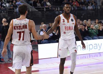 Kyzlink Tomas Moore MichaelVirtus Roma - Carpegna Prosciutto Basket PesaroLega Basket Serie A 2019/2020Roma, 17/11/2019Foto Gennaro Masi / Ciamillo-Castoria
