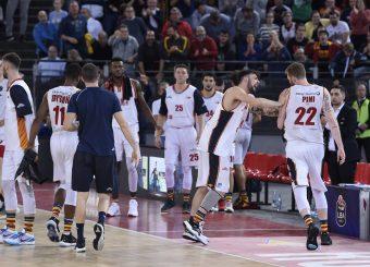 Baldasso Tommaso Pini GiovanniVirtus Roma - Carpegna Prosciutto Basket PesaroLega Basket Serie A 2019/2020Roma, 17/11/2019Foto Gennaro Masi / Ciamillo-Castoria