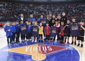 Virtus With UsVirtus Roma - De Longhi TrevisoLega Basket Serie A 2019/2020Roma, 24/11/2019Foto Gennaro Masi / Ciamillo-Castoria