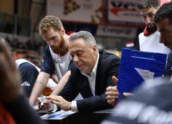 Piero Bucchi Openjobmetis Varese - Virtus Roma Basket Serie A LBA 2018/2019 Varese 01 December 2019 Ore 12:00 Foto Mattia Ozbot / Ciamillo-Castoria