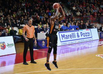 Buford William Openjobmetis Varese - Virtus Roma Basket Serie A LBA 2018/2019 Varese 01 December 2019 Ore 12:00 Foto Mattia Ozbot / Ciamillo-Castoria