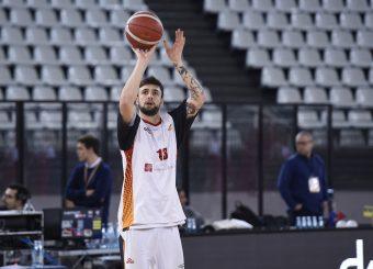 Baldasso Tommaso Virtus Roma - Pallacanestro Trieste Lega Basket Serie A 2019/2020 Roma, 08/12/2019 Foto Gennaro Masi / Ciamillo-Castoria