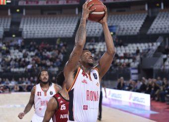 William Buford Virtus Roma - Pallacanestro Trieste Lega Basket Serie A 2019/2020 Roma, 08/12/2019 Foto Gennaro Masi / Ciamillo-Castoria