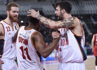 Baldasso Tommaso Dyson Jerome Virtus Roma - Pallacanestro Trieste Lega Basket Serie A 2019/2020 Roma, 08/12/2019 Foto Gennaro Masi / Ciamillo-Castoria