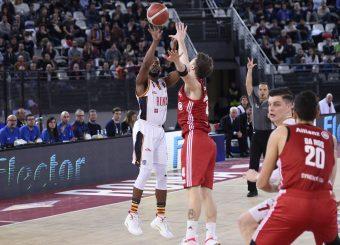 Dyson Jerome Virtus Roma - Pallacanestro Trieste Lega Basket Serie A 2019/2020 Roma, 08/12/2019 Foto Gennaro Masi / Ciamillo-Castoria