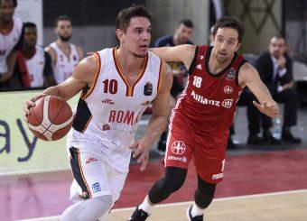 Rullo Roberto Virtus Roma - Pallacanestro Trieste Lega Basket Serie A 2019/2020 Roma, 08/12/2019 Foto Gennaro Masi / Ciamillo-Castoria