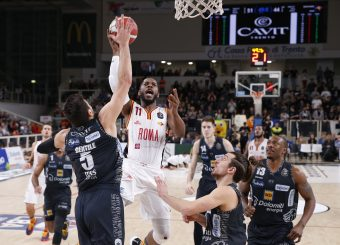 Dyson Jerome Dolomiti Energia Trentino vs Virtus Roma Lega Basket Serie A 2019/2020 Trento, 14/12/2019 Foto A. Gilardi/Ag. Ciamillo Castoria