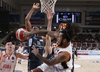 Jefferson Davon Dolomiti Energia Trentino - Virtus Roma Lega Basket Serie A 2019/2020 Trento, 14/12/2019 Foto Ciamillo-Castoria
