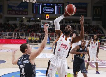 Dyson Jerome Dolomiti Energia Trentino - Virtus Roma Lega Basket Serie A 2019/2020 Trento, 14/12/2019 Foto Ciamillo-Castoria