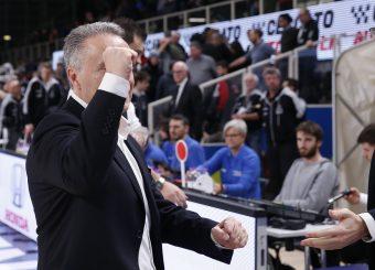 Bucchi Piero Dolomiti Energia Trentino vs Virtus Roma Lega Basket Serie A 2019/2020 Trento, 14/12/2019 Foto A. Gilardi/Ag. Ciamillo Castoria
