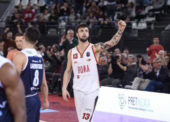 Baldasso TommasoVirtus Roma - Germani Basket BresciaLega Basket Serie A 2019/2020Roma, 22/12/2019Foto Gennaro Masi / Ciamillo-Castoria