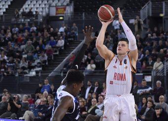 Alibegovic AmarVirtus Roma - Germani Basket BresciaLega Basket Serie A 2019/2020Roma, 22/12/2019Foto Gennaro Masi / Ciamillo-Castoria