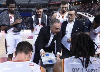 Bucchi PieroVirtus Roma - Germani Basket BresciaLega Basket Serie A 2019/2020Roma, 22/12/2019Foto Gennaro Masi / Ciamillo-Castoria