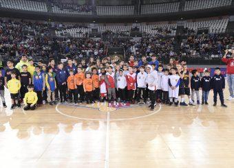 Virtus With UsVirtus Roma - Germani Basket BresciaLega Basket Serie A 2019/2020Roma, 22/12/2019Foto Gennaro Masi / Ciamillo-Castoria