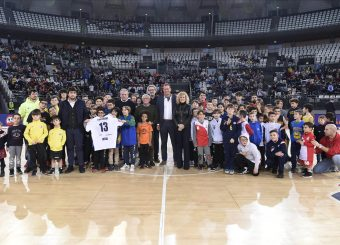 Ricordo Solfrini Virtus Roma - Germani Basket Brescia Lega Basket Serie A 2019/2020 Roma, 22/12/2019 Foto Gennaro Masi / Ciamillo-Castoria