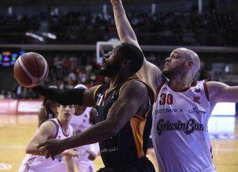 Dyson Jerome Grissin Bon Reggio Emilia - Virtus Roma Lega Basket Serie A 2019/2020 Reggio Emilia, 22/12/2019 Foto Ciamillo-Castoria