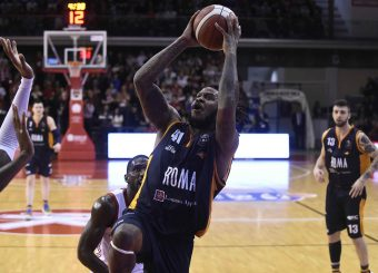 Jefferson Davon Grissin Bon Reggio Emilia - Virtus Roma Lega Basket Serie A 2019/2020 Reggio Emilia, 22/12/2019 Foto Ciamillo-Castoria