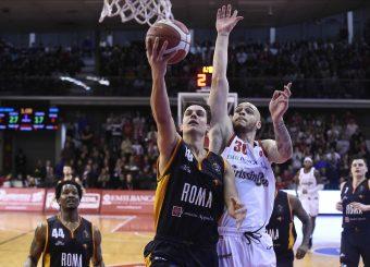 Rullo Roberto Grissin Bon Reggio Emilia - Virtus Roma Lega Basket Serie A 2019/2020 Reggio Emilia, 22/12/2019 Foto Ciamillo-Castoria
