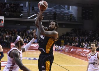 Jefferson Davon Grissin Bon Reggio Emilia - Virtus Roma Lega Basket Serie A 2019/2020 Reggio Emilia, 29/12/2019 Foto A.Giberti / Ciamillo - Castoria