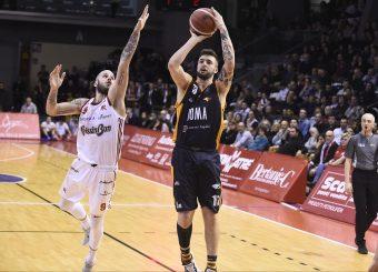 Baldasso Tommaso Grissin Bon Reggio Emilia - Virtus Roma Lega Basket Serie A 2019/2020 Reggio Emilia, 29/12/2019 Foto A.Giberti / Ciamillo - Castoria