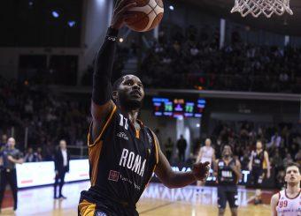 Dyson Jerome Grissin Bon Reggio Emilia - Virtus Roma Lega Basket Serie A 2019/2020 Reggio Emilia, 29/12/2019 Foto A.Giberti / Ciamillo - Castoria