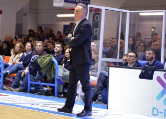 Bucchi Piero Happy Casa Brindisi - Virtus Roma Legabasket Serie A 2019-2020 Brindisi febbraio 2020 Foto Ciamillo