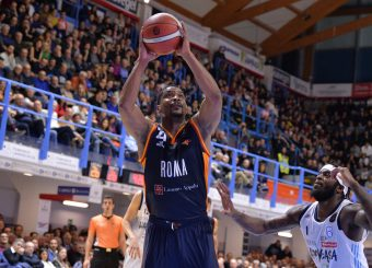 White James Happy Casa Brindisi - Virtus Roma Legabasket Serie A 2019-2020 Brindisi febbraio 2020 Foto Ciamillo