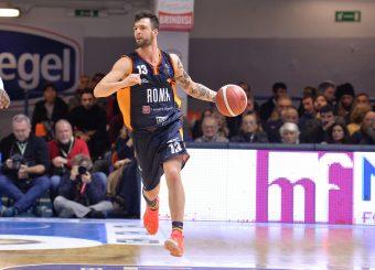 Baldasso Tommaso Happy Casa Brindisi - Virtus Roma Legabasket Serie A 2019-2020 Brindisi febbraio 2020 Foto Ciamillo