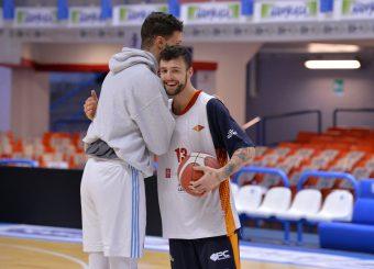 Baldasso Tommaso Happy Casa Brindisi - Virtus Roma Legabasket SerieA 2019-2020 Brindisi 19/01/2020 Foto: Ciamillo-Castoria / Michele Longo