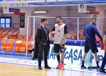 Baldasso Tommaso, Gioire Simone Happy Casa Brindisi - Virtus Roma Legabasket SerieA 2019-2020 Brindisi 19/01/2020 Foto: Ciamillo-Castoria / Michele Longo