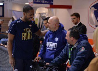 Dyson Jerome Happy Casa Brindisi - Virtus Roma Legabasket SerieA 2019-2020 Brindisi 19/01/2020 Foto: Ciamillo-Castoria / Michele Longo