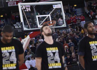 Ricordo Kobe Bryant Virtus Roma - Oriora Pistoia Lega Basket Serie A 2019/2020 Roma, 02/02/2020 Foto Gennaro Masi / Ciamillo-Castoria