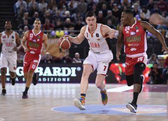 Alibegovic Amar Virtus Roma - Oriora Pistoia Lega Basket Serie A 2019/2020 Roma, 02/02/2020 Foto Gennaro Masi / Ciamillo-Castoria