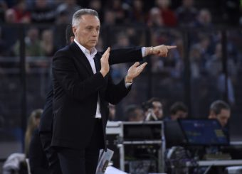 Bucchi Piero Virtus Roma - Oriora Pistoia Lega Basket Serie A 2019/2020 Roma, 02/02/2020 Foto Gennaro Masi / Ciamillo-Castoria