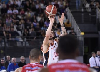 Baldasso Tommaso Virtus Roma - Oriora Pistoia Lega Basket Serie A 2019/2020 Roma, 02/02/2020 Foto Gennaro Masi / Ciamillo-Castoria