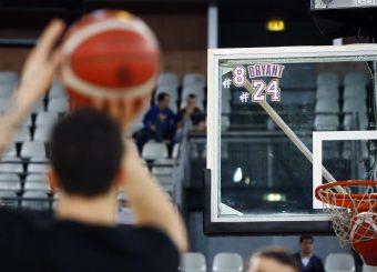 Vetrofania Kobe Virtus Roma - Oriora Pistoia Legabasket Serie A 2019-20 Roma, 02/02/2020 Foto Ciamillo-Castoria