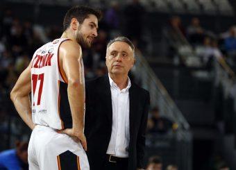 Bucchi Piero Kyzlink Tomas Virtus Roma - Oriora Pistoia Legabasket Serie A 2019-20 Roma, 02/02/2020 Foto Ciamillo-Castoria