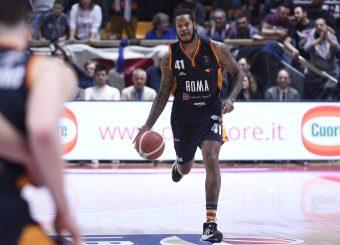 Jefferson Davon Pompea Fortitudo Bologna - Virtus Roma Lega Basket Serie A 2019/2020 Bologna, 07/02/2020 Foto Gennaro Masi / Ciamillo-Castoria