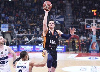 Alibegovic Amar Pompea Fortitudo Bologna - Virtus Roma Lega Basket Serie A 2019/2020 Bologna, 07/02/2020 Foto Gennaro Masi / Ciamillo-Castoria