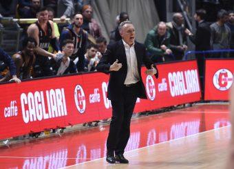Bucchi Piero Pompea Fortitudo Bologna - Virtus Roma Lega Basket Serie A 2019/2020 Bologna, 07/02/2020 Foto Gennaro Masi / Ciamillo-Castoria