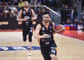 Baldasso Tommaso Pompea Fortitudo Bologna - Virtus Roma Lega Basket Serie A 2019/2020 Bologna, 07/02/2020 Foto Gennaro Masi / Ciamillo-Castoria