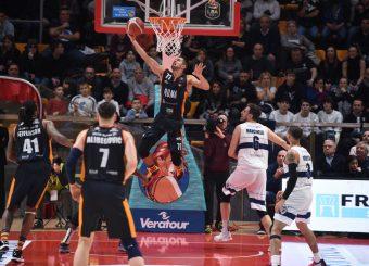 Kyzlink Tomas Fortitudo Pompea Bologna - Virtus Roma Lega Basket Serie A 2019/2020 Reggio Emilia, 25/01/2020 Foto Ciamillo-Castoria