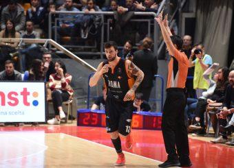 Baldasso Tommaso Fortitudo Pompea Bologna - Virtus Roma Lega Basket Serie A 2019/2020 Bologna, 08/02/2020 Foto Ciamillo-Castoria