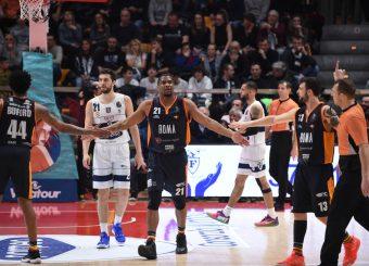 White James Fortitudo Pompea Bologna - Virtus Roma Lega Basket Serie A 2019/2020 Bologna, 08/02/2020 Foto Ciamillo-Castoria