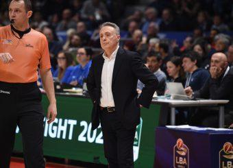 Bucchi Piero Fortitudo Pompea Bologna - Virtus Roma Lega Basket Serie A 2019/2020 Bologna, 08/02/2020 Foto Ciamillo-Castoria