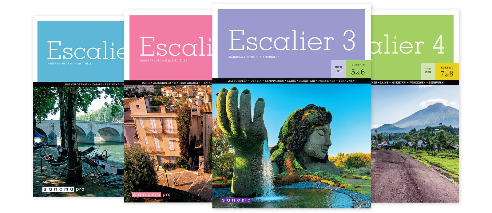 Sanoma Pron ranskan sarja Escalier
