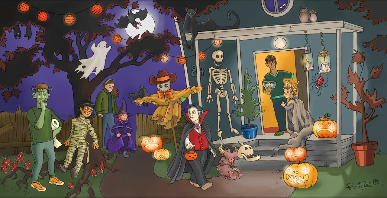 Sanoma Pron opevinkit Halloween