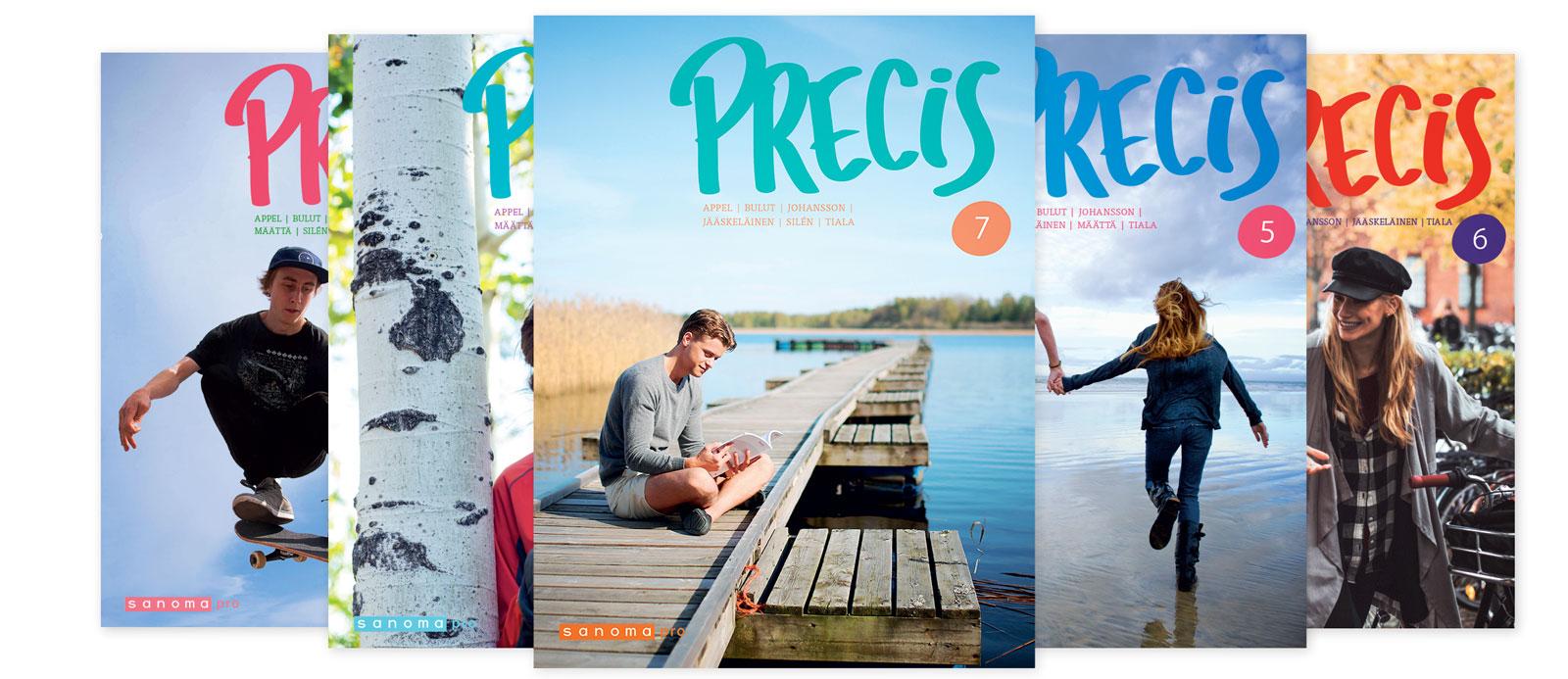 Sanoma Pron lukion ruotsin sarja Precis