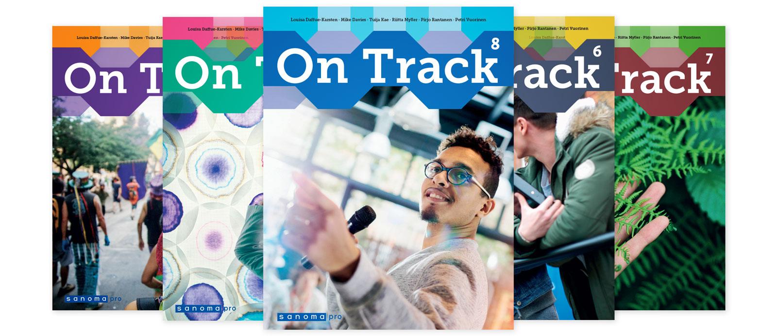 Sanoma Pro lukion englannin sarja On Track