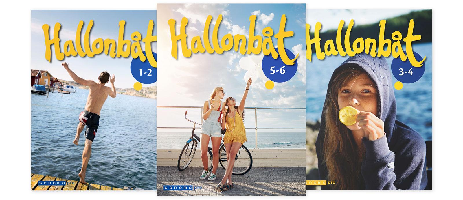 Sanoma Pron ruotsin sarja Hallonbåt